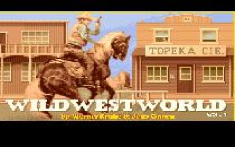 Wild West World - title cover
