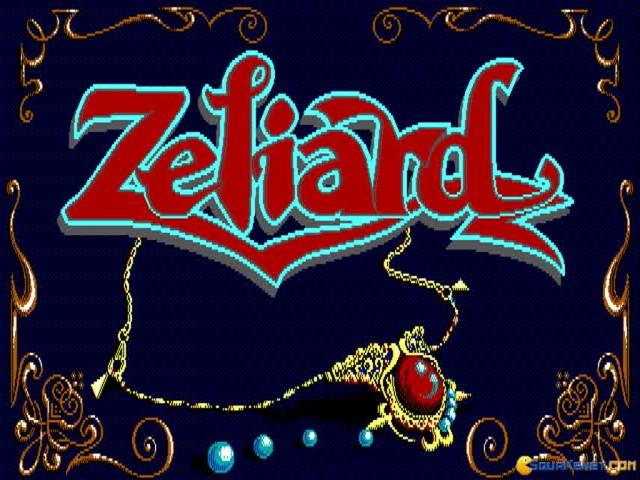 Zeliard - title cover
