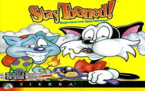 Stay Tooned! - title cover