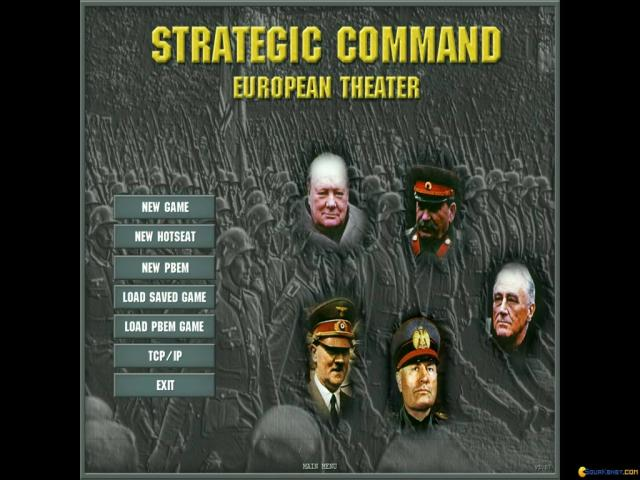 Strategic Command: European Theater - title cover