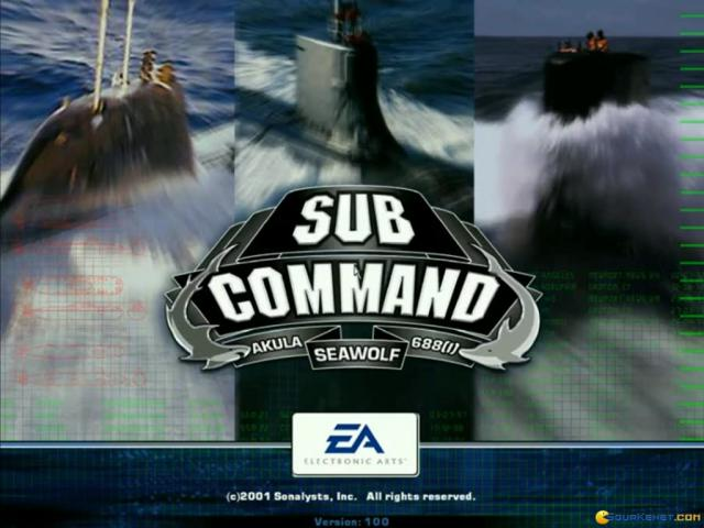 Sub Command - game cover