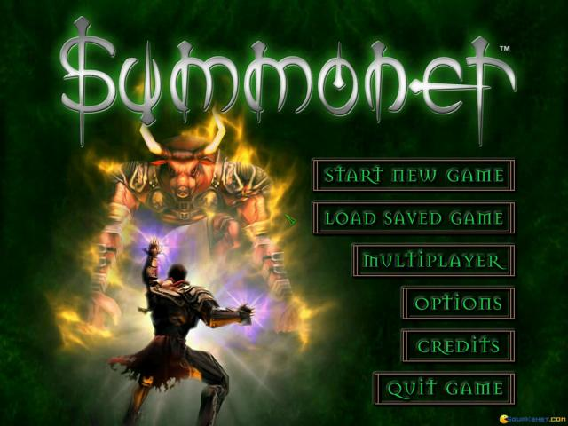 Summoner - game cover