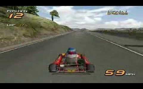 Super 1 Karting Simulation - game cover
