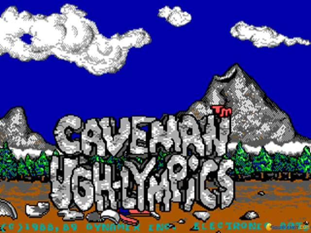 Caveman Ugh-lympics - game cover