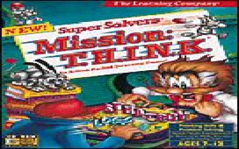 Super Solvers Mission: T.H.I.N.K. - game cover