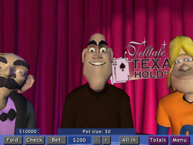 Telltale Texas Hold'em - game cover