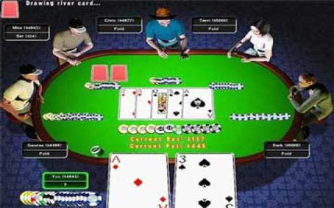 Texas Hold'em: High Stakes Poker - game cover