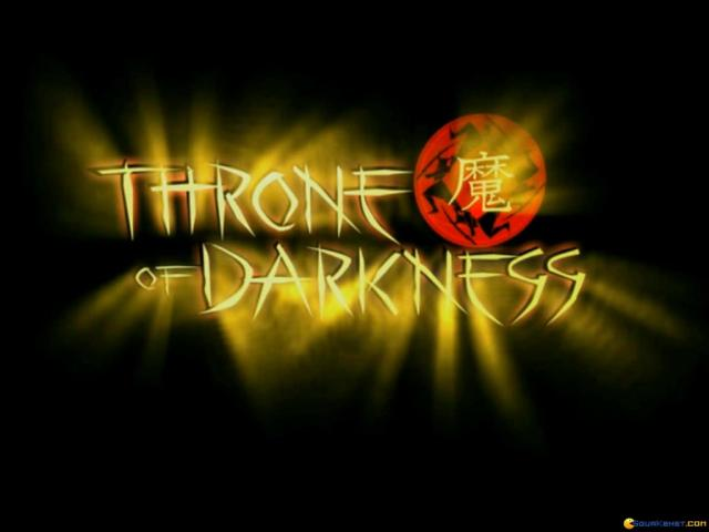Throne of Darkness - title cover