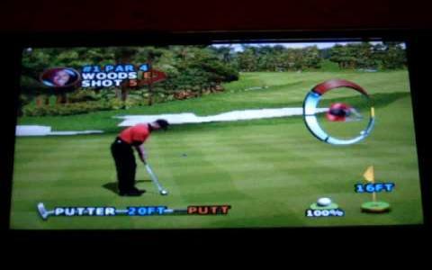 Tiger Woods PGA Tour 2000 - title cover