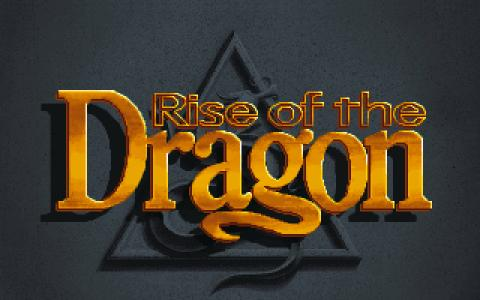 Rise of the Dragon - title cover