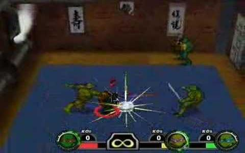 TMNT: Mutant Melee - game cover