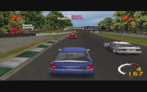 TOCA 2: Touring Car Challenge - game cover