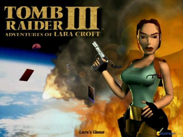 Tomb Raider III: Adventures of Lara Croft - title cover