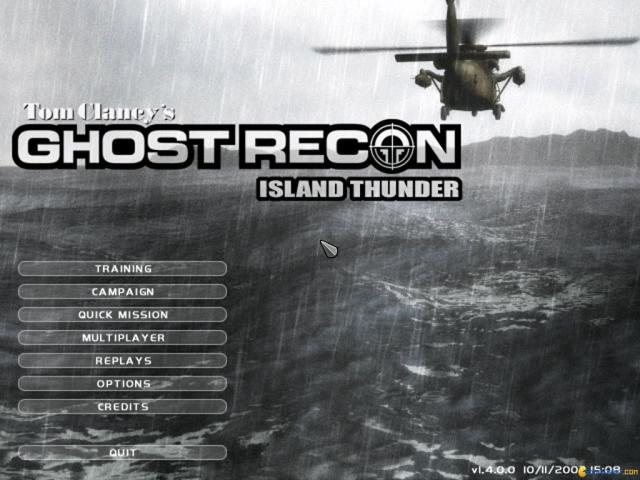 Ghost Recon: Island Thunder - title cover