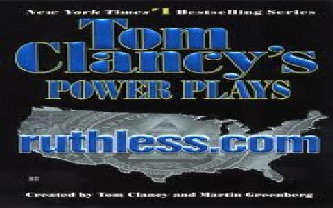 Tom Clancy's Ruthless.com - title cover