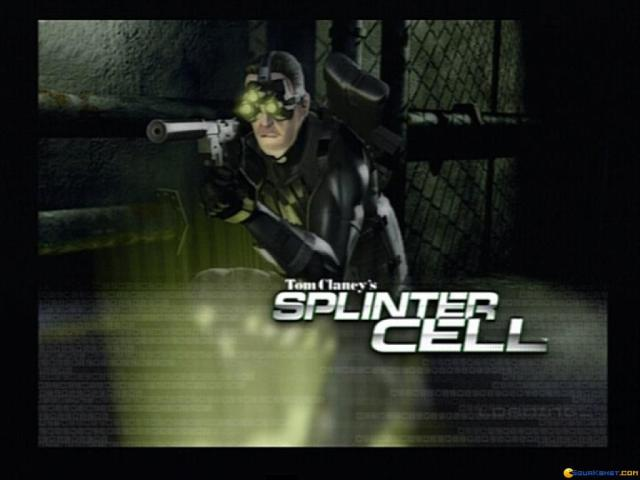Splinter Cell - game cover