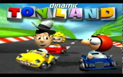 Toyland Racing - title cover