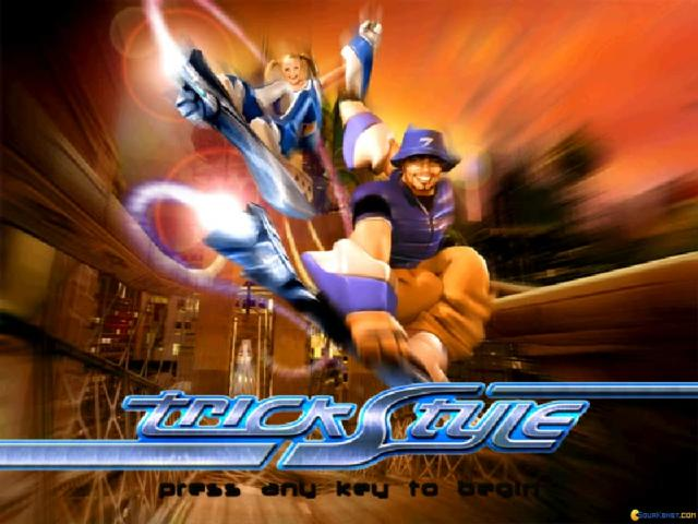 Trickstyle - game cover