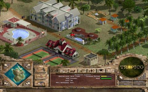 Tropico: Paradise Island - title cover