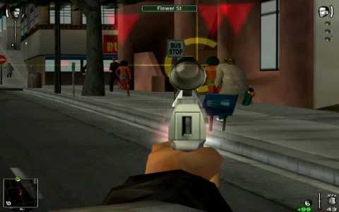 True Crime: Streets of LA - game cover
