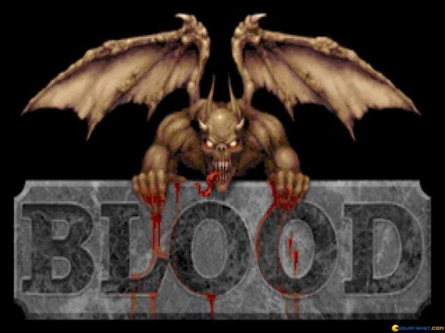 Blood - title cover