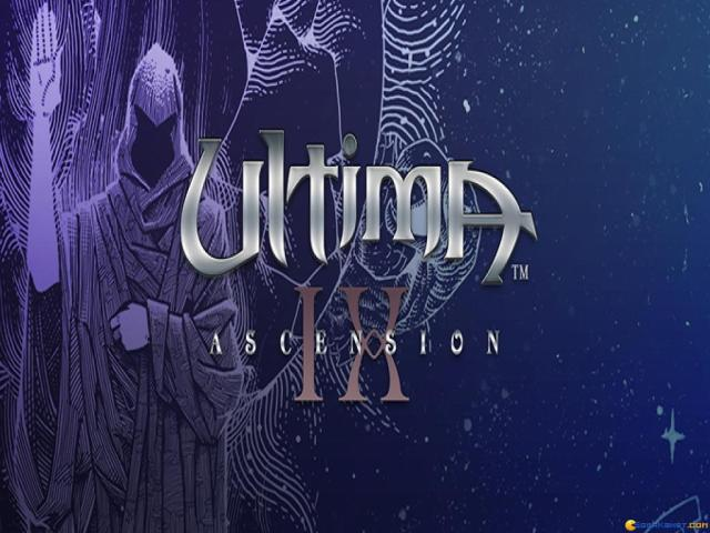 Ultima IX: Ascension - title cover