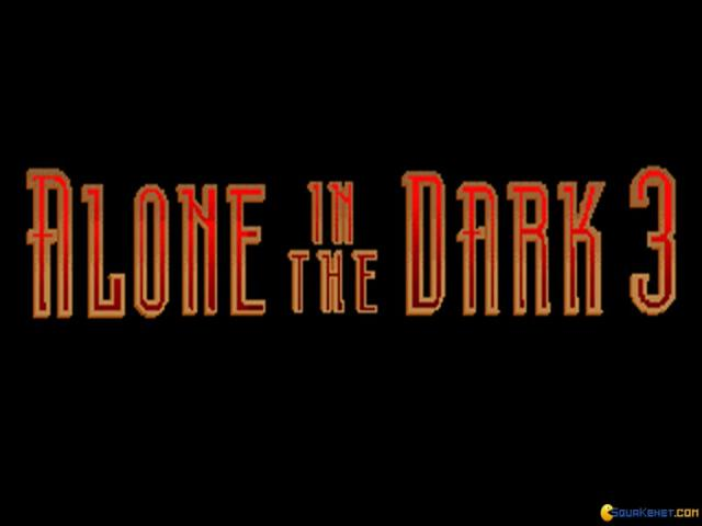 Alone in the Dark 3 - title cover