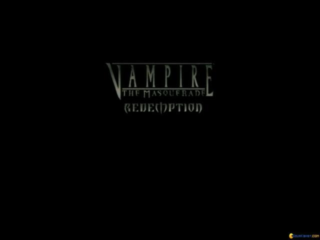 Vampire: The Masquerade - Redemption - title cover