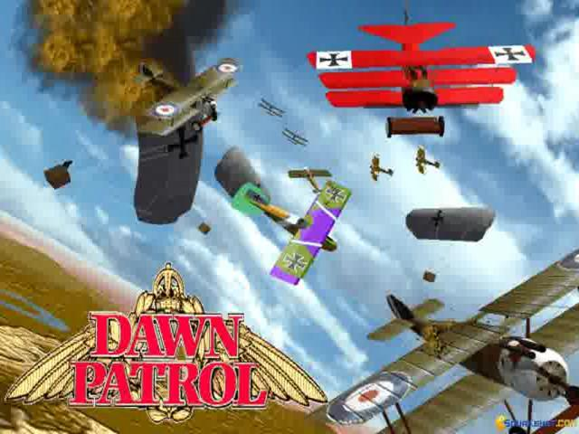 Dawn Patrol - title cover