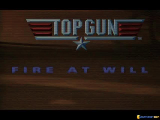 Top Gun Fire at Will - title cover
