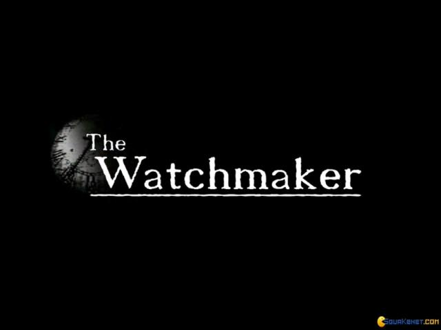 The Watchmaker - game cover