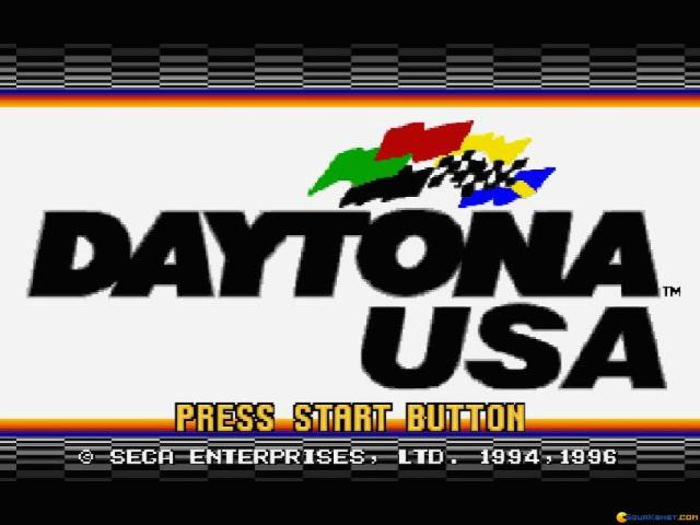 Daytona USA - game cover