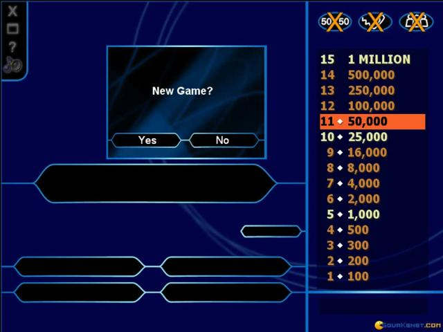 Who Wants to Be a Millionaire? - game cover
