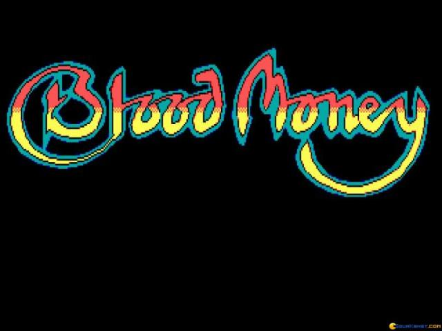 Blood Money - title cover