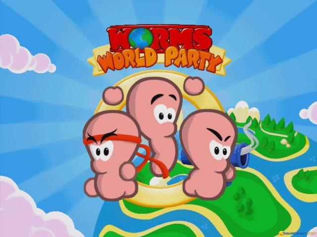 Worms World Party - title cover