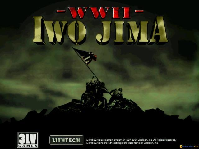 WWII: Iwo Jima - game cover