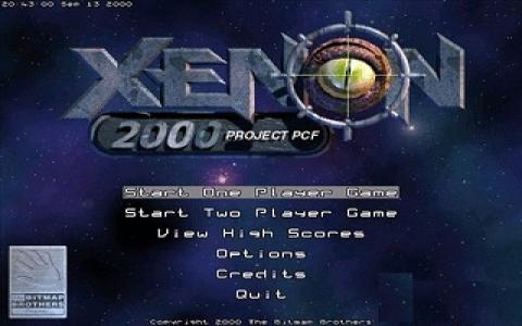 Xenon 2000 - Project PCF - game cover
