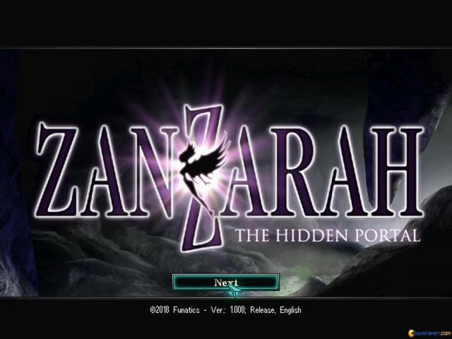 Zanzarah: The Hidden Portal - game cover