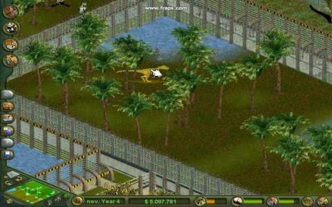Zoo Tycoon: Dinosaur Digs - game cover