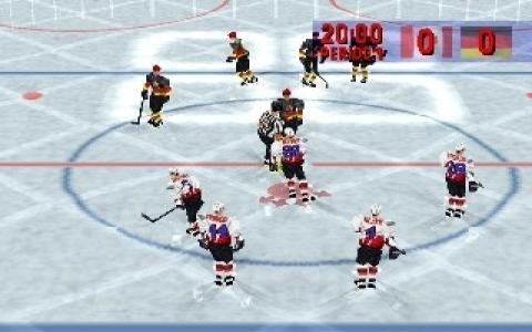 Actua Ice Hockey - game cover