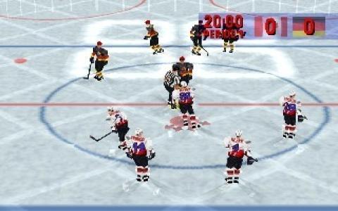 Actua Ice Hockey - title cover