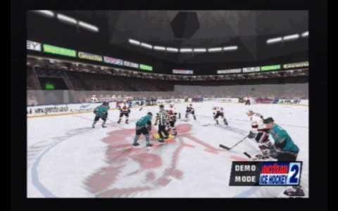 Actua Ice Hockey 2 - title cover