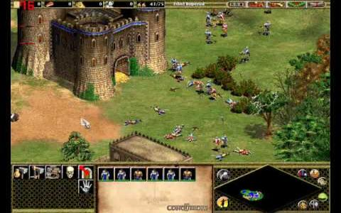 Age of Empires II: The Conquerors - title cover