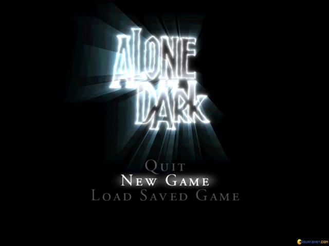 Alone in the Dark: The New Nightmare - title cover