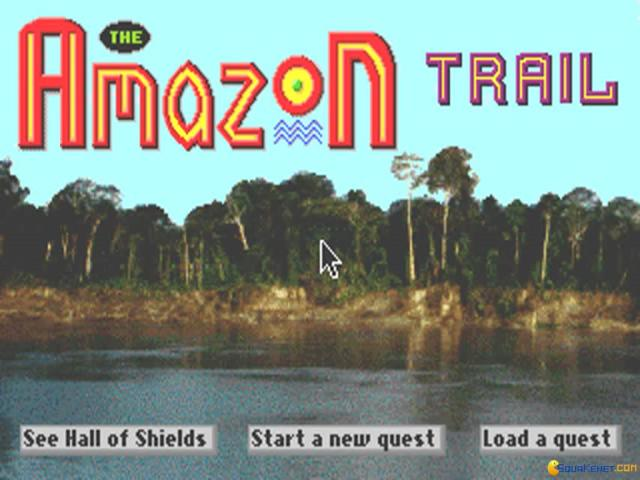 The Amazon Trail - title cover