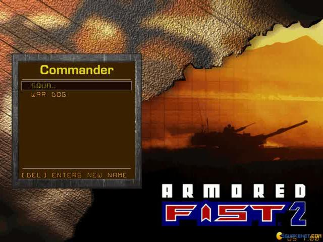 Armored Fist 2 - title cover