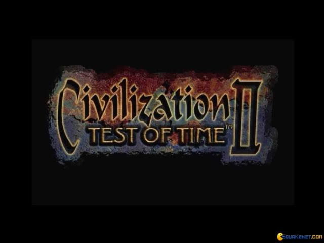 Civilization 2: Test of Time - title cover