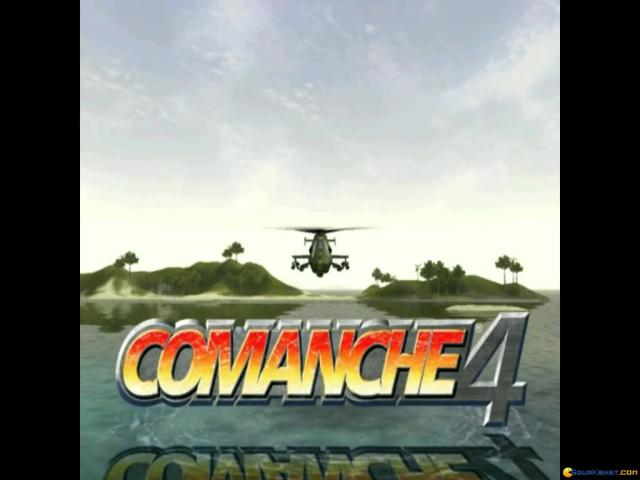 Comanche 4 - game cover