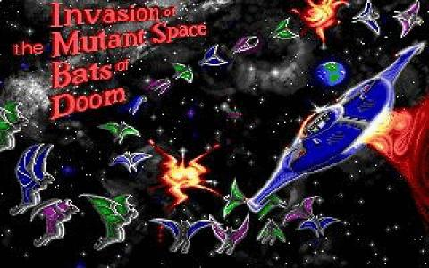 Invasion of the Mutant Space Bats of Doom - title cover