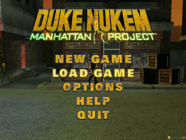 Duke Nukem: Manhattan Project - title cover